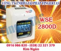 Chuyên cung cấp thiết bị chấm công thẻ giấy wse 2800a/d giá cực rẻ