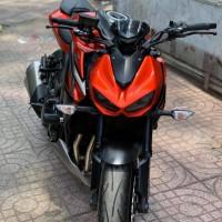 Chuyên thanh lý các loại xe kawasaki z1000 abs màu đỏ đen  hải quan giá rẻ