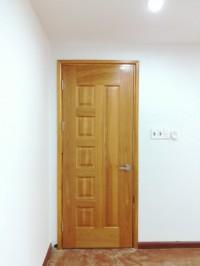 Cửa gỗ công nghiệp cho cửa phòng giá rẻ hdf veneer ở bình tâ