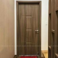 Cửa nhựa giả gỗ abs hàn quốc cho nội thất