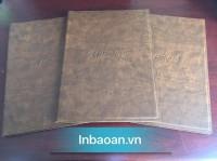 Cung cấp quyển menu da, quyển oder có sẵn dùng cho nhà hàng giá rẻ tại xưởng