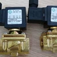 Cung cấp van điện từ 2 mặt bích gang - inox | van nước điện từ 220v, 24v