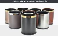 đại lý bán thùng chứa rác inox dùng trong nhà bền, giá..