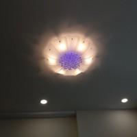 đèn ốp trần hiện đại hl-001 + tặng kèm bộ điều khiển hiện đại 500k