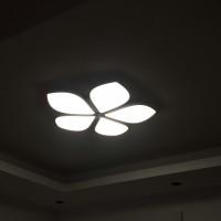 đèn ốp trần hiện đại hl-002 + tặng kèm bộ điều khiển hiện đại 500k