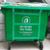 địa chỉ bán xe đẩy gom rác đô thị 660 lit có 4 bánh xe