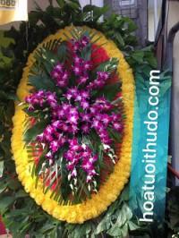 Dịch vụ gửi điện vòng hoa tang lễ tại cầu giấy hà nội
