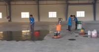 Dịch vụ vệ sinh nhà xưởng tại cụm cn qúi đức