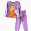 đồ bộ bé gái barbie màu tím size nhí