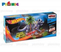 đồ chơi trẻ em bộ đường đua thách thức khủng long ba sừng