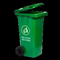 Giá bán thùng đựng rác có bánh xe loại 120 lit