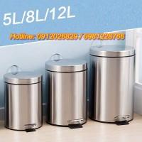 Giá các loại thùng chứa rác inox chân đạp(5l, 7l, 12l, 20l, 30l)