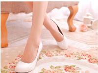 Giày cao gót bít chân da pu bóng.cao 9cm 160