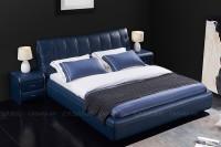 Giường đôi cao cấp bọc da
