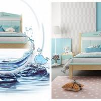 Giường ngủ cho bé trai thiết kế an toàn cá tính