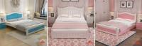 Giường ngủ đa năng cho bé gái