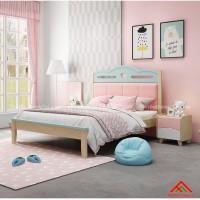 Giường ngủ đơn giản cho bé gái đẹp miễn chê