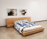 Giường ngủ gỗ sồi nga gnd08