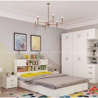 Giường ngủ thông minh thiết kế tiện dụng phù hợp với mọi gia đình