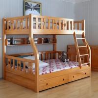 Giường tầng gỗ tự nhiên đẹp dành cho trẻ em