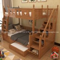 Giường tầng nhỏ gọn dành cho trẻ em