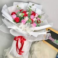 Hoa hồng sáp thơm - món quà ý nghĩa