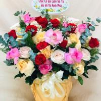 Hoa sinh nhật giá rẻ - miễn phí giao hoa