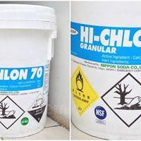 Hóa chất khử trùng- xử lý nước- clorin nhật ca(ocl)2 70%