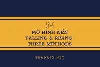 Hướng dẫn giao dịch mô hình rising và falling three..