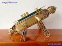 Khóa cửa bằng đồng gold ssa-bl-8888-rg