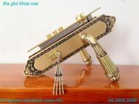 Khóa cửa bằng đồng gold ssa bm-9393-sf