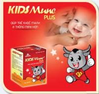 Kidsmune plus - giúp trẻ ăn ngon miệng, khỏe mạnh và thông minh hơn
