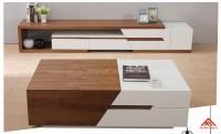Kệ tivi di động phòng khách gỗ công nghiệp đẹp