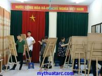 Khai giảng lớp học vẽ ở thái thịnh, đống đa