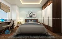 Không gian phòng ngủ cá tính với nội thất gỗ óc cho đẳng cấp