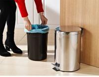 Kích thước thùng rác inox đạp chân, nắp bập bênh được người dùng ưa chuộng