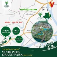 Lá phổi xanh mới của thành phố – vinhomes grand park rộng cỡ nào ?
