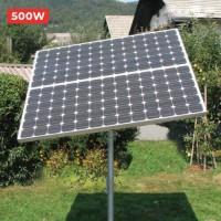 Lắp đặt pin năng lượng mặt trời mini 500w