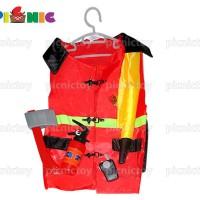 Lesheng - bộ đồ chơi đồng phục và dụng cụ cảnh sát chữa cháy 4