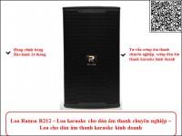Loa karaoke ramsa r212 cho dàn âm thanh karaoke kinh doanh