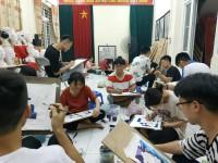 Lớp dạy vẽ luyện thi đại học ở hà nội
