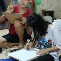 Lớp học vẽ luyện thi kiến trúc hà nội