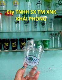 Ly nhựa pet 360ml dùng cho cafe take away