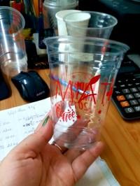 Ly nhựa pet 530ml thích hợp cho trà sữa, sinh tố
