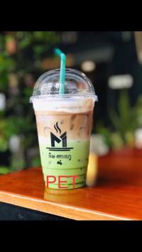 Ly nhựa pet nắp cầu 590ml(600ml) dùng cho các quán trà sữa