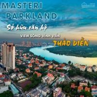 Masteri parkland - an phú, q2 mở bán đợt 1, ưu đãi ngày mở bán
