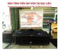 Máy tính tiền tạp hoá giá rẻ tại bạc liêu
