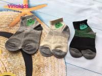 Mua 5 tặng 1 tất chân trẻ em vinakids hình ếch (3-6 tuổi)