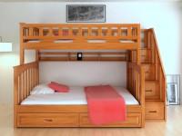 Mẫu giường tầng thông minh cho bé
