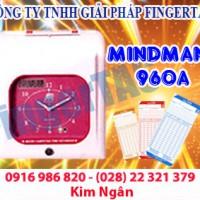 Máy chấm công thẻ giấy m960a/m960 bảo hành 12 tháng